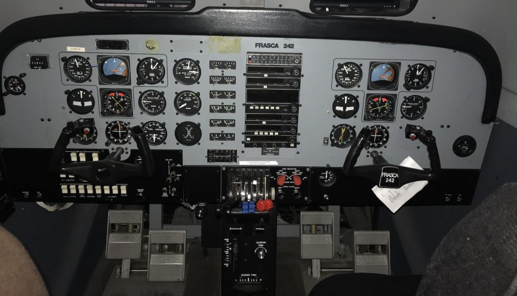 Frasca IFR Simulator Training